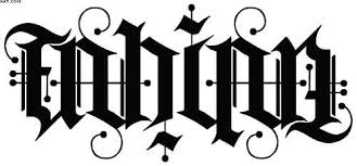 ambigram tattoo art and designs page 53