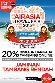 airasia travel fair 20 21 jun 2015 air asia travel fair 2015 malaysia sale event