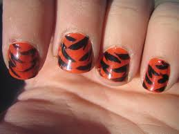tiger paw nail art nail art ideas
