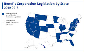Depaul Map State By State Guide Entrepreneurs Benefit Corporations