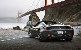 ferrari black ferrari black sports cars rear wallpapers 8931 download page