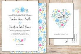 invitations for weddings 19 totally gorgeous watercolor wedding invitations
