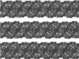 black lace ribbon edible icing wraps be girly black lace ribbon single designer