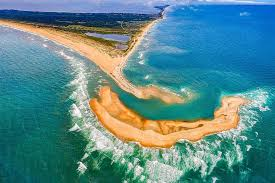 Long Island On Map New Island Appears Off Coast Of North Carolina In Outer Banks