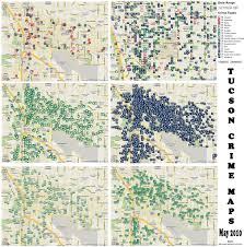 Portland Oregon Crime Map by Tucson Crime Map My Blog