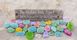 Painted Rocks For Garden by It U0027s Not Just A Rock It U0027s A Project Of Kindness