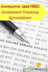 Financial Tracking Spreadsheet An Awesome And Free Investment Tracking Spreadsheet