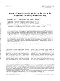 soci t g n rale si ge social a of hyperthymesia rethinking the pdf available