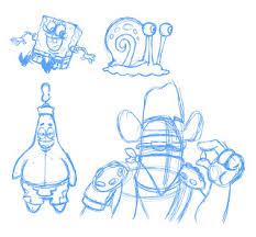 crowley creations sketches spongebob