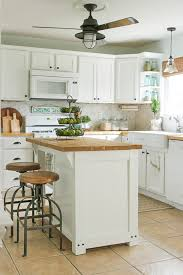 build a kitchen island diy kitchen island with trash storage shades of blue interiors