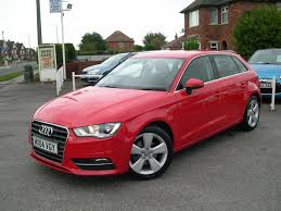 used audi a3 red for sale motors co uk