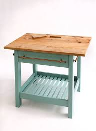 handmade kitchen islands handmade kitchen island with painted base by the school
