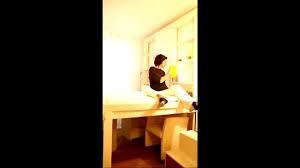 Loft Bed Espace Loggia Le Lit Au Plafond Pour Profiter De Votre Chambre Pleinement Youtube