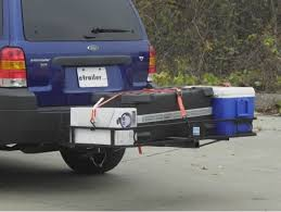 Landscape Trailer Basket by Can Trailer Hitch Mounted Bike Rack And Cargo Carrier Be Used At