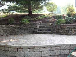 Paver Patio With Retaining Wall by Retaining Wall Design And Construction In Northern Va