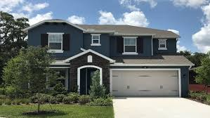 European Homes The Promenade At Lake Park 50s New Homes In Lutz Fl 33548
