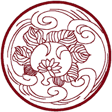 asian designs asian circle embroidery design