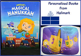 hanukkah book hallmark personalized books a magical hanukkah bullock s buzz