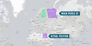 Bay Of Bengal Map Maps That Show Why Some Countries Are Not As Big As They Look
