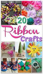 easy ribbon craft ideas to make crafts kid and ribbon crafts