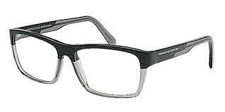brillen porsche design porsche design p8190 k brille carbon grey smartbuyglasses