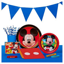 mickey mouse party decorations mickey mouse party supplies collection target