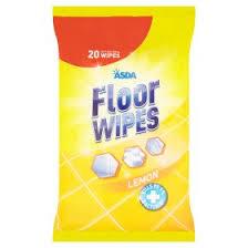 asda floor cleaning wipes lemon asda groceries
