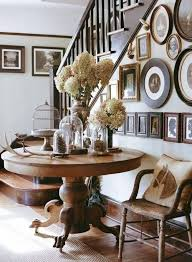 Entryway Table Decor Entryway Busy But I Like The Idea Of Table Chair And Lots Of