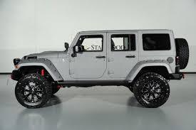 jeep wrangler unlimited 24s 2015 jeep wrangler unlimited kevlar paint lift kit leather navigation