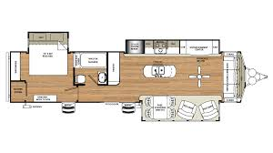 Rockwood Roo Floor Plans 2018 Forest River Sandpiper Destination 401flx Model