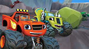 blaze monster machines race
