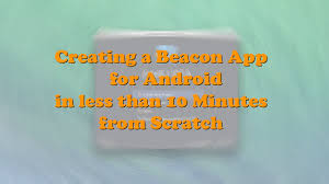 tutorial android beacon library software7