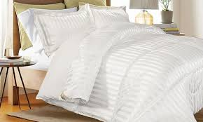 White Down Comforter Set 73 Off On Reversible Comforter Set 3pc Groupon Goods