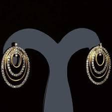 danglers earrings design diamond earring manufacturer from surat