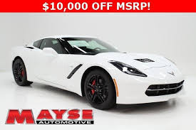 corvette stingray msrp 2017 chevrolet corvette stingray 3lt 10 000 msrp for sale