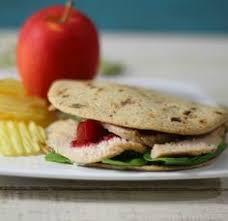 copycat panera turkey cranberry flatbread sandwich thanksgiving