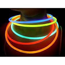 glow in the necklaces glow sticks bulk wholesale necklaces 100 22 blue glow
