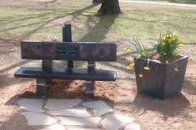 crete cast products memorial benches