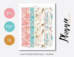 Washi Tape Designs by Free Printable Washi Tape U2013 Planner Addiction