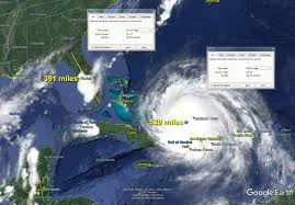 Show Map Of Florida by Monster Hurricane Irma U2013 Sat Measurements Show It Larger Than The