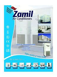 al zamil pv series units sheet metal thermostat