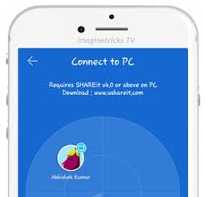 pc to android how to use shareit on pc to transfer files from phone