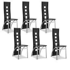 lot de 6 chaises salle à manger lot de 6 chaises design design à la maison