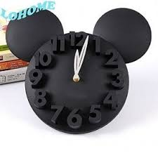 mickey mouse wall clock foter
