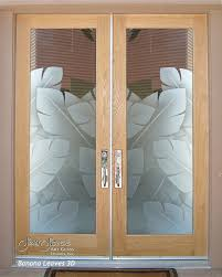 Exterior Glass Front Doors by Frosted Glass Front Doors Sans Soucie Art Glass