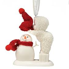 department 56 snowbabies top it snowman ornament the