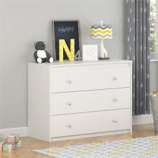 Ameriwood Bedroom Furniture by Ameriwood Elements 3 Drawer White Chest 5848015pcom The Home Depot