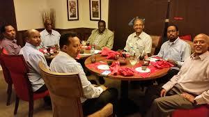 dinner host somaliland friends of amoud university host dinner for prof