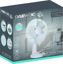 Oscillating Desk Fan by Daewoo 12