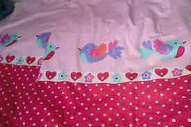 Dunelm Mill Nursery Curtains Dunelm Nursery Curtains Birds Pinks Size Is 66 X 54 Fully Lined